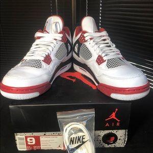 newest cdf3f 42daf Nike Air Jordan Retro IV (Varsity Red) ...